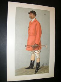 Vanity Fair Print 1899 Viscount Galway, Fox Hunting